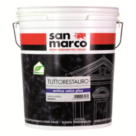 San Marco Antica calce plus декоративная штукатурка 25кг