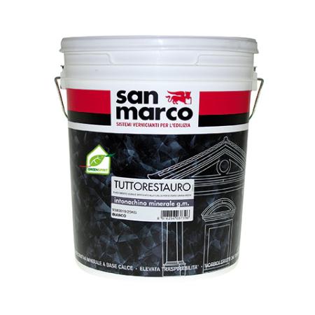 San Marco Intonachino minerale gfine минеральная декоративная штукатурка 25кг