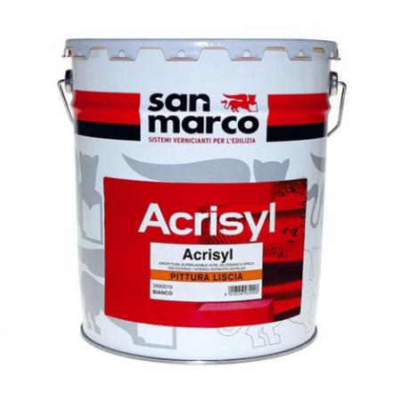 San Marco Acrisyl Pittura Liscia
