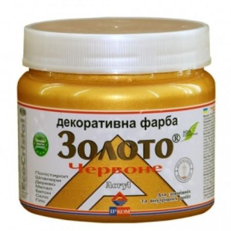 Ирком декоративная краска «металлик» (Красное золото ИР-152) 0,4л