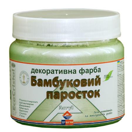 Ирком декоративная краска «металлик» (Бамбуковый росток ИР-194) 0,4л