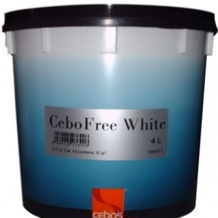 Cebos CeboFree White флоковый материал с белыми хлопьями 4л