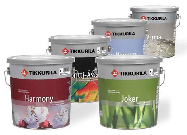 краска Tikkurila фото