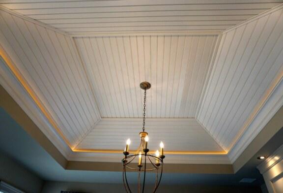 Варианты для отделки потолка
