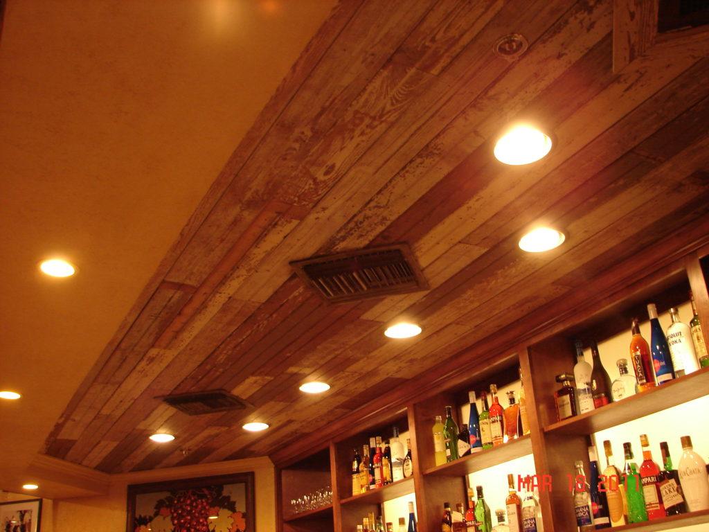 отделка потолка фото