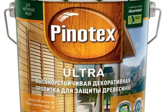Пинотекс (Pinotex): покраска деревянного дома