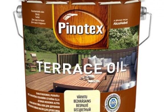 Pinotex Terrace Oil