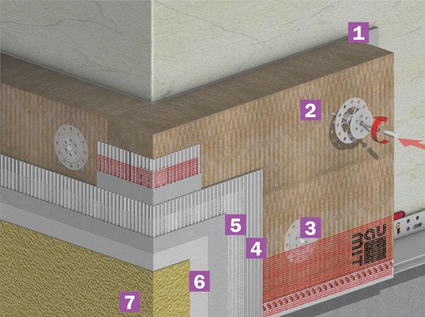 система утепления фасадов фото