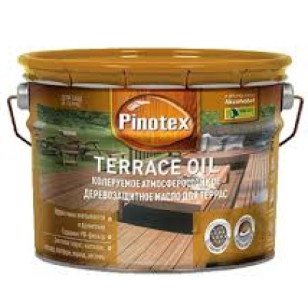 Масло для террас Pinotex Terrace Oil 10л