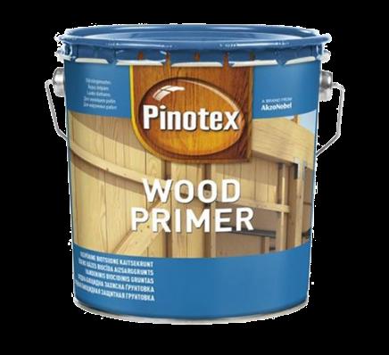 Грунтовка на водной основе Pinotex Wood Primer 10л
