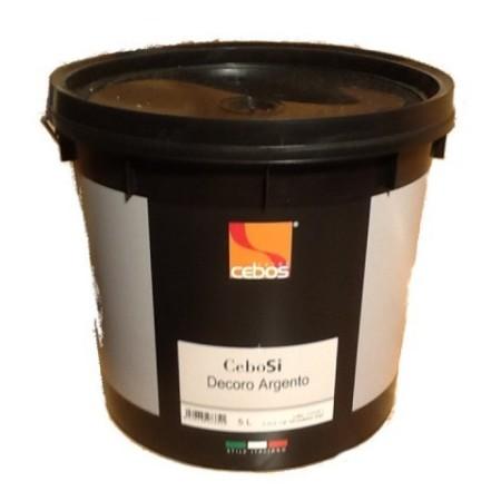 Cebos CeboSi Decoro Argento покрытие с бархатным эффектом (база серебро) 5л