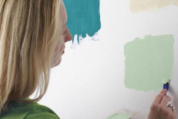 Для качественного ремонта подойдёт качественная краска для стен