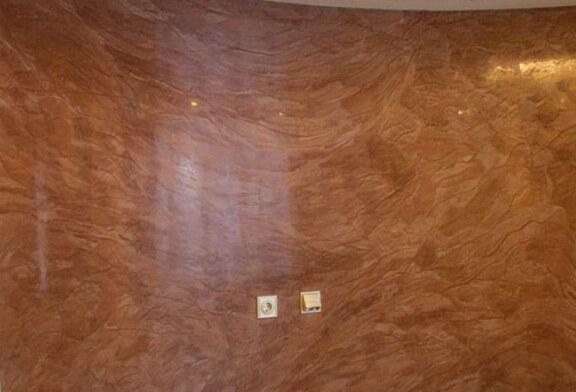 Венецианская шпаклевка в современных интерьерах