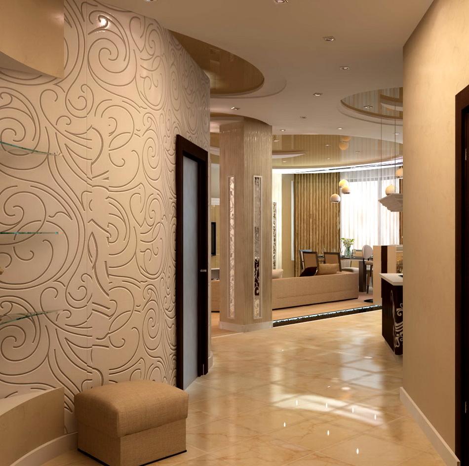 Какой дизайн следует предпочесть для оформления коридора?