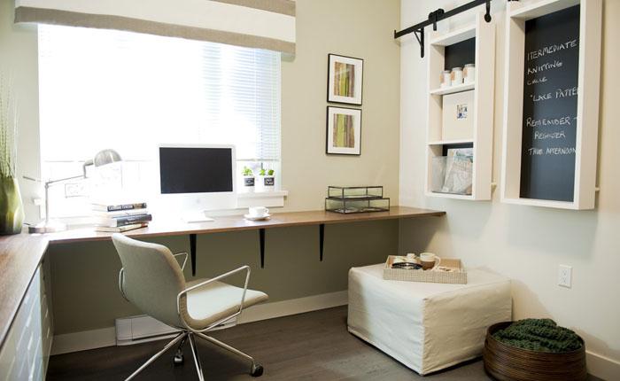 Рабочий уголок в квартире