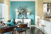 Новый тренд в дизайне интерьеров: покраска стен в два цвета
