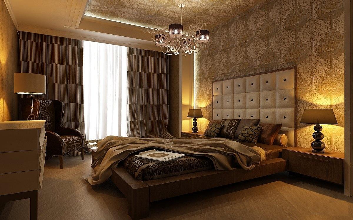 Дизайн спальни в неоклассике стиле