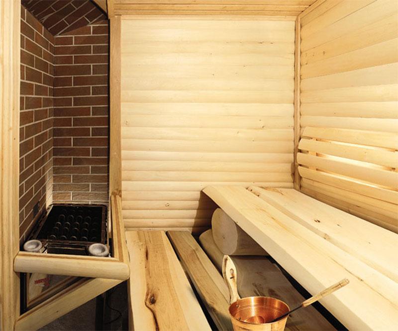 Защитные негорючие обшивки стен бани