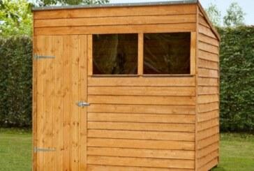 Дачные постройки своими руками: деревянный сарай