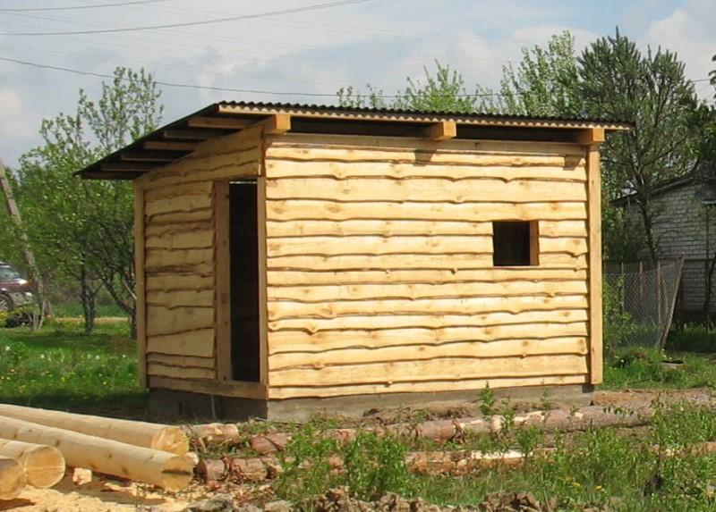 как построить деревянный сарай для дачи