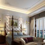 Классический стиль в спальне фото