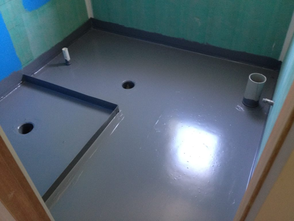 гидроизоляция ванной фото